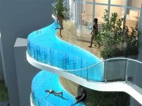 balkon plane luxury condo with balcony pools business insider