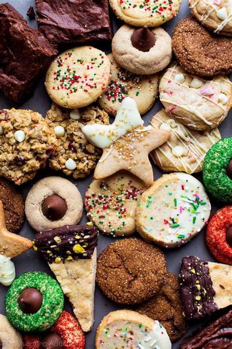 christmas cookies and recipes 50 fun and festive christmas cookies sallys baking addiction