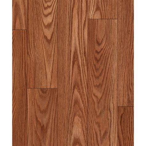 allen roth laminate reviews shop allen roth 4 96 in w x 4 23 ft l nutmeg oak embossed laminate wood planks at lowes com