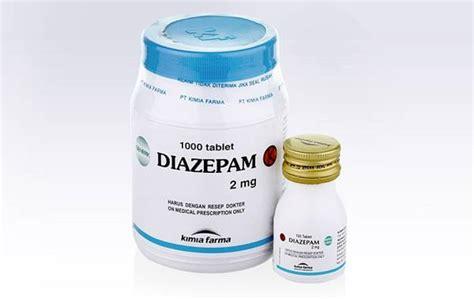 diazepam kegunaan dosis efek sing dll aladokter