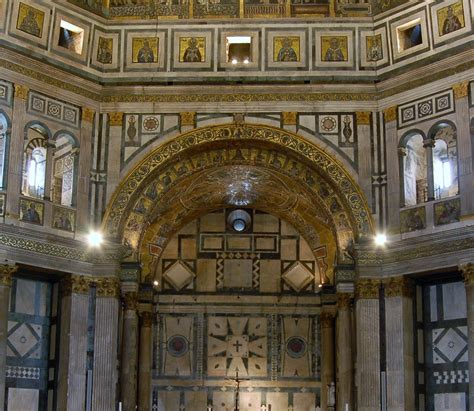 battistero firenze interno the baptistery of patron of florence