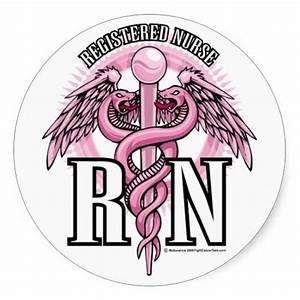 Registered Nurse Clip Art   Registered Nurse Logo Pink ...