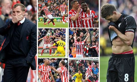 Stoke City 6-1 Liverpool: Steven Gerrard's final game for ...