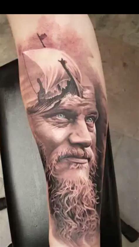Ragnar Tattoo  Tattoo  Pinterest Vikings
