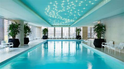 hotel swimming pool chicago luxury hotel  langham chicago