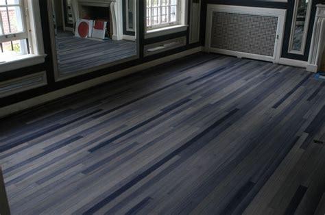 painting wood floors dark