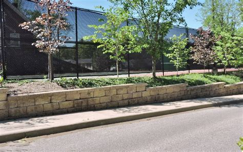 tennis court retaining wall kirkwood home landscape julies garden design