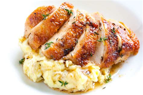 chicken breast recipes easy pan roasted chicken breasts with thyme