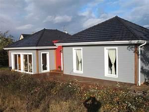 Maison Modulaire Bois : maison ossature bois projet modulaire pour nativie ~ Melissatoandfro.com Idées de Décoration