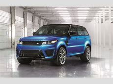 2016 Range Rover Sport SVR Luxury Things