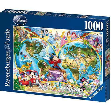 cadre puzzle 1000 pieces ravensburger disney world map 1000 puzzle 163 13 00 hamleys for ravensburger disney world