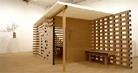 beautiful exles of cardboard architecture ecofriend