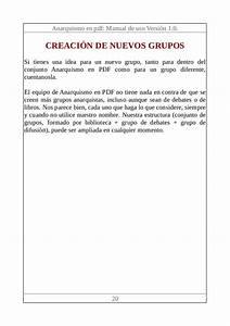 Anarquismo En Pdf  Manual De Uso 1 0