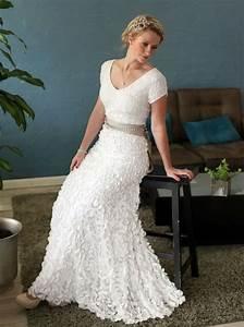 bridal dresses for older brides With wedding dress for older bride