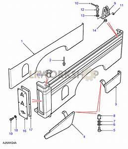 Rear Body Lower - Inner Panels