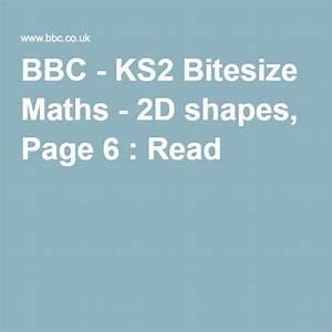 Bbc - Ks2 Bitesize Maths - 2d Shapes