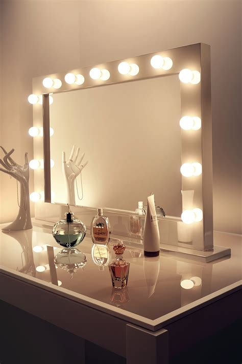 mirror with lights around makeup mirrors with lights around them home design ideas