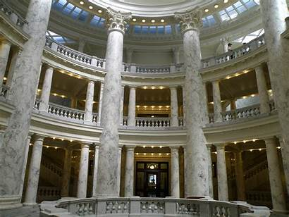 Capitol Building Idaho Inside State Boise Map