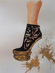 Alexander McQueen shoes...:) | My fashion illustration and ...