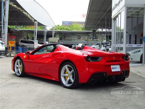 It fools many by hiding the seams and mechanism. Ferrari 488 Spider 2018 3.9 in กรุงเทพและปริมณฑล Automatic Convertible สีแดง for 21,500,000 Baht ...
