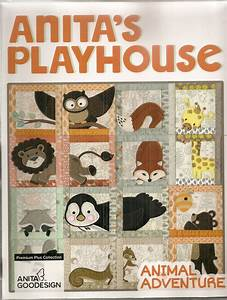 Anita Goodesign Premium Plus Collection Anita's Playhouse