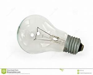 Light Bulb On White Background Stock Photography - Image ...