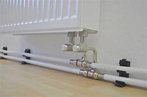 Wasserleitung Unterputz Verlegen : modernisierung in bewohntem zustand verdecktes verlegen von heizungsleitungen mithilfe eines ~ Orissabook.com Haus und Dekorationen