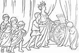 Chariot Coloring Roman Vingel sketch template