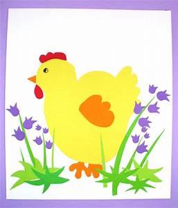 Poule Pour Paques : bricolages poules de p ques l paques poules poussin t te ~ Zukunftsfamilie.com Idées de Décoration
