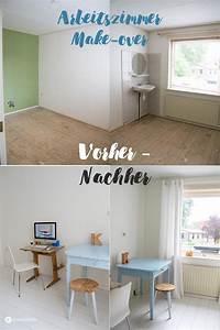 Haus Vorher Nachher : haus renovieren das arbeitszimmer makeover kreativfieber ~ Markanthonyermac.com Haus und Dekorationen