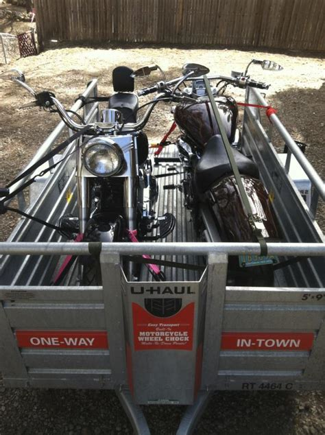 To bikes in Uhaul Trailer - Harley Davidson Forums