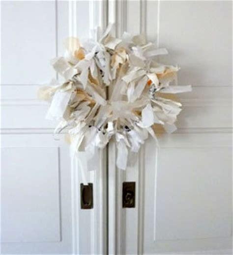 papier wasserfest machen wanddeko kranz aus stoff und papier selber machen solebich de