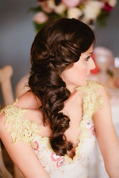 15 romantic bridal hairstyles for the season pretty designs