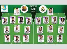Suivez le direct du match FC BarceloneReal Madrid BeSoccer
