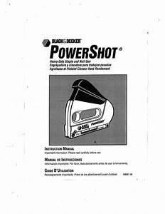 Black  U0026 Decker Staple Gun 348061