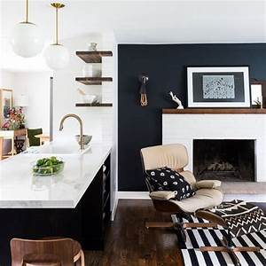 Best 25 dark accent walls ideas on pinterest industrial for Best brand of paint for kitchen cabinets with california wood wall art