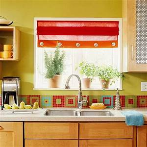 36 colorful and original kitchen backsplash ideas digsdigs for Colorful kitchen backsplash ideas