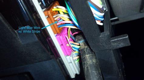 locate stoplight switch wire   chevrolet