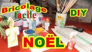 Bricolage Facile En Papier : bricolage no l facile en papier d une bougie diy d co ~ Mglfilm.com Idées de Décoration