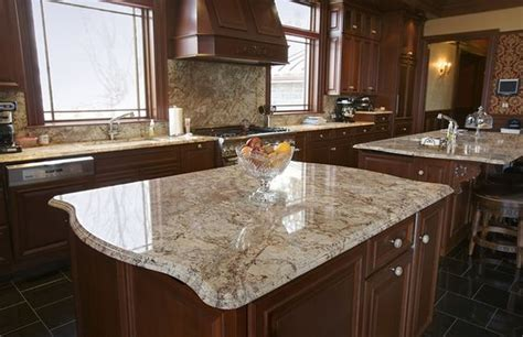 Typhoon Bordeaux Granite Countertops - typhoon bordeaux granite nature s of in a kitchen
