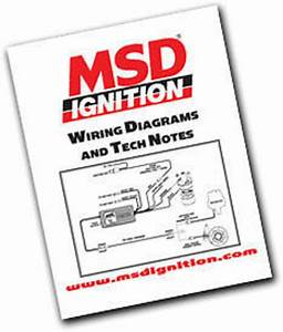 Msd Wiring Diagrams  Tech Notes  U0026 Trouble-shooting Guide Book Msd9615