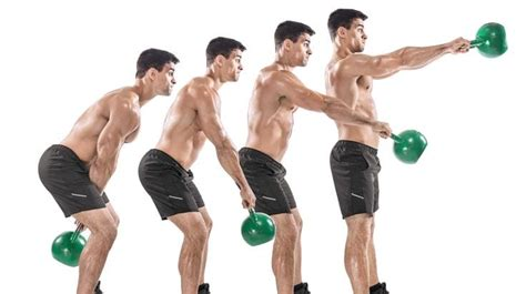 kettlebell training exercises workout workouts swing kettlebells weight physique strength body swings week single lose muscle fitness routines hand beginners