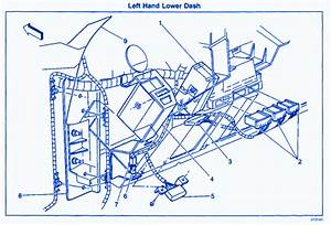 Chevy Tahoe 2001 Dash Fuse Box  Block Circuit Breaker Diagram