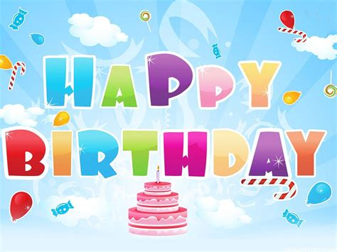 Happy Birthday Animated Wallpaper - animated birthday wallpapers high definition wallpapers