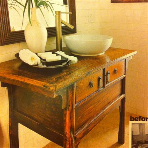 old dressers made into sinks turn any dresser into a sink for the home pinterest