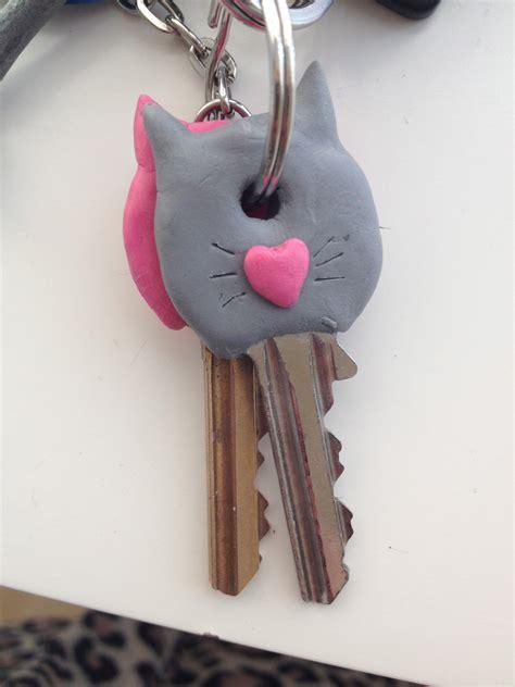sugru kitty key covers     keycap decorating