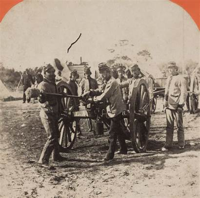 Confederate Soldiers Civil Artillery War Cannon Marion
