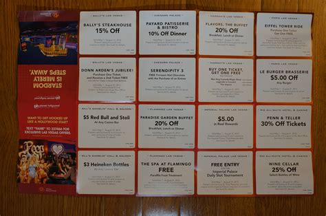 Caesars Entertainment Check In Get Coupons Marks Las