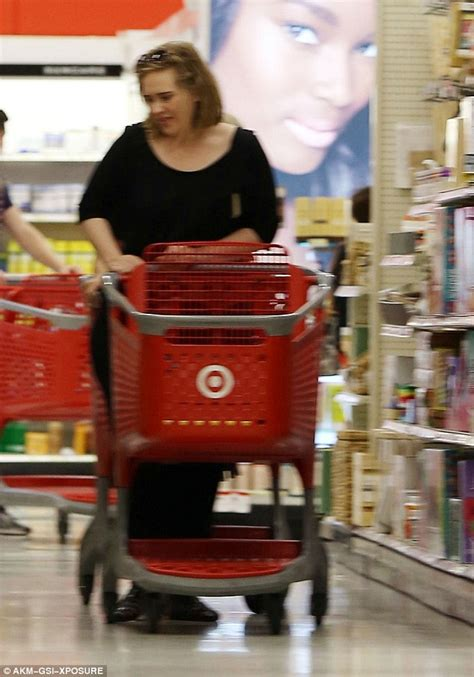 Adele Spotted On The Shopping Hunt In Target Despite Being