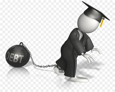 Student Loan Student Schulden Clip-art